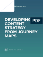 ANA Developing Content Strategy From Journey Maps