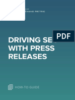 ANA Driving SEO With Press Releases