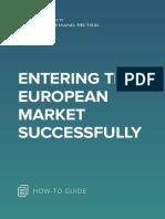 ANA Entering the European Market Successfully