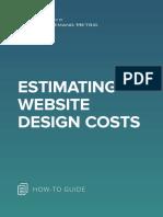 ANA Estimating Website Design Costs