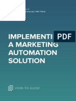 ANA Implement a Marketing Automation Solution