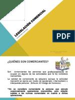 Legislación comercial - Comerciante.ppt