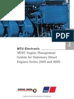 MDEC Stationary Diesel