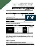 Ficha de Observación Al Docente de Aula - Ciclo II (1)