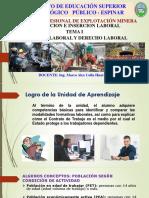 Legislacion e Insersion Laboral