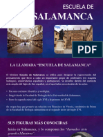 Exposición - Escuela de Salamanca