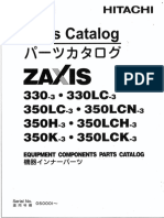 PART CATALOG ZX330-3 330LC-3 350LC-3 350LCN-3 350H-3 350LCH-3 350K-3 350LCK-3