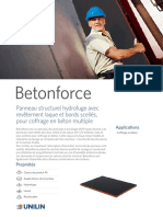 Datasheet Betonforce FR