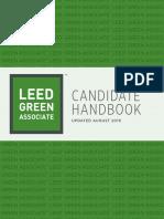2019 LEED Green Associate Candidate Handbook