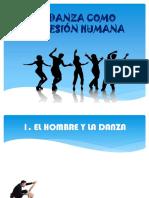 LA  DANZA   COMO EXPRESIÓN   HUMANA.pptx