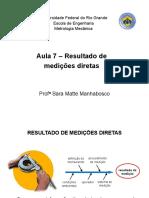 Aula 7 - Medições Diretas metroloogiss
