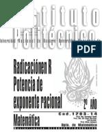 1203-14 MATEMATICA Radicación en Reales.Potencia de exponente racional.pdf