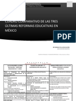 3 reformas educativas