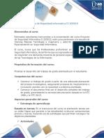 Presentación Del Curso - Proyecto de Seguridad Informática II