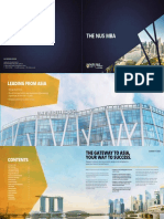 The NUS MBA Brochure Web