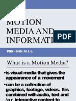 MIL Lesson 15 Motion Information Media