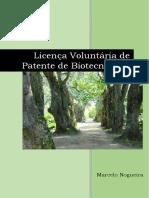 E-book Licença Voluntária de Patente de Biotecnologia