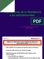 11 Resistencia ARV Dra Gutierrez