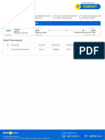 Tiket Order #121563871 Flight