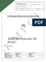 EH Oil pump SOP