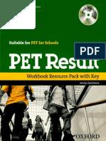 PET Result Worbook