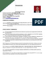 Curriculum Cristina
