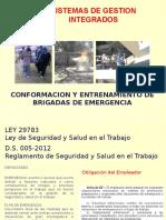 Entrenamiento de Brigadas de Emergencia - 2018