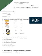 1st q 2nd Summative Test 2019 2020