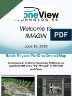 Pix4d vs Drone2map