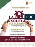 RECOMENDACIONES Nueva Escuela Mexicana v5 Completa