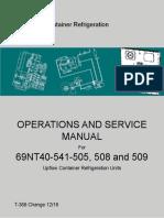 Manual de servicio de unidad Carrier Microlink3i
