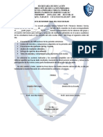 Acta de Informe Finallogro Academico (Rendicion de Cuentas Padres)