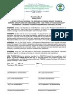 resolution TESDA training.pdf