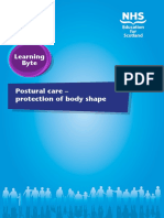 Postural Care Learning Byte 1