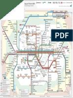 Schnell Bahn Netz Plan