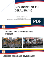 Emerging Model of Philippine Federalism
