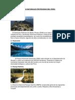 Áreas Naturales Protegidas Del Peru