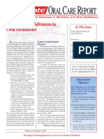 Colgate Oral Care Report Series Volume 25 No 3 Lead Article Technological Advances in Oral Healthcare