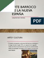 Arte barroco de la Nueva España