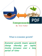 About Entrepreneurship by Varun