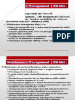 Maintenance Management 2