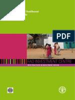 FAO Livelihood Projects India