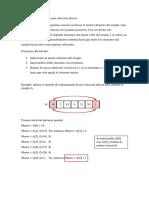 Método de Ordenamiento Por Selección Directa