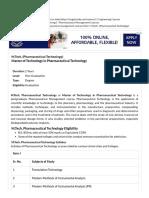 M.Tech Pharmaceutical Technology.pdf