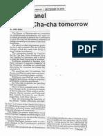 Philippine Star, Sept. 10, 2019, House panel tackles Cha-cha tomorrow.pdf