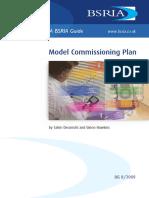 Model Commissioning Plan (Sample)
