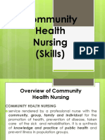 Community Health Nursing (Skills) I Family