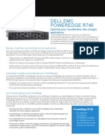 PowerEdge R740 Spec Sheet French