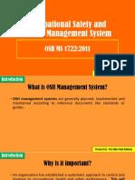Chapter 2 OSH Management System