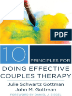 10 Principles for Doing Effective Couples Therapy .John Gottman